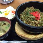 お食事処ふみ - 石焼きそばめし(¥780)