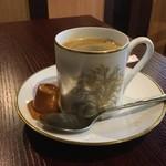 肉&チーズバル Benvenuta - ホットコーヒー