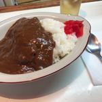 にしもと - 料理写真:カツカレー450円