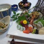 菊華旅館 - 料理写真:お刺身膳