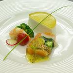 ラ・グラン・ポルト - ランチ 前菜の盛り合わせ