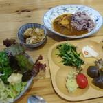 農家レストラン いぶき - 野菜がいっぱい!