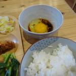 農家レストラン いぶき - 卵掛けご飯