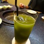 肉の匠 将泰庵 - 緑茶