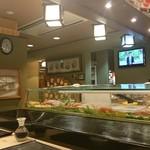 量平寿司 - 店内