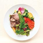 24/7 restaurant - 【ランチ】色んな味で食べるサラダプレート