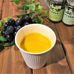 地産CAFE&SHOPけあふぃっとふぁーむ - 天空カボチャのスープ