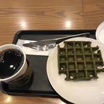 スターバックス・コーヒー - コーヒー&抹茶のワッフル