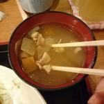 99880959 - 美味しい味噌汁:お替りOK