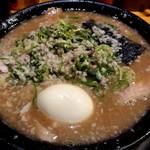 無鉄砲 - とんこつチャーシュー(950円)+特製半熟味玉(100円)☆
