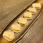 原始炭焼 いろり家 - いぶりがっこクリームチーズ