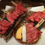 上野太昌園 - おまかせ厳選5種盛り合わせ(6,800円)