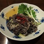 上野太昌園 - センマイ刺(980円)