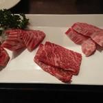 A5仙台牛焼肉&寿司 食べ放題肉18 - 黒毛和牛5種盛り