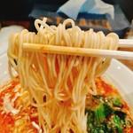 おおぼし - 九州風の白い細麺(ストレート)