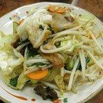 永楽食堂 - 野菜炒め
