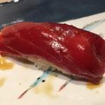 第三春美鮨 - シビマグロ 149.6kg 腹上二番 赤身 一本釣 熟成6日目 青森県三厩