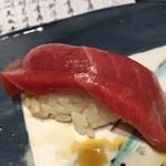 第三春美鮨 - シビマグロ 149.6kg 腹上二番 中トロ 一本釣 熟成6日目 青森県三厩