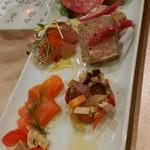 季節の旬彩イタリアン ナビガンテ - 前菜5種もり¥900-