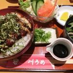 99893840 - 川うめ丼A。1,800円