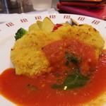 BISTRO309 - チキンカツレツフィレンツェ風バジル風味トマトソース