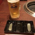 焼肉工房 和 - ドリンク写真:ビール 特大 ¥650