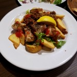 博多イタリアンチーズバル バルバル - チキンの香草焼き?