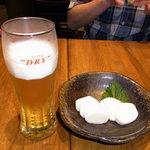 9990211 - わさび芋&ビール