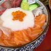 竹野鮮魚 - 料理写真:やまかけ丼