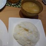 99901646 - ご飯とみそ汁