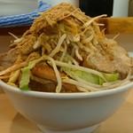 らーめん影武者 - 影武者らーめん『野菜マシマシ』魚粉トッピング 20190110
