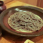 蕎や 月心 - 料理写真:玄挽田舎そば