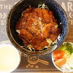 RIDER'S CAFE 寺住 明王寺 - 豚バラ炙り焼き丼@800
