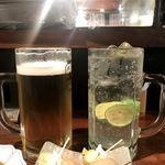 99908059 - 生ビールとすだちサワー