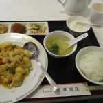 99908408 - 鶏肉のカレー炒めのランチセット