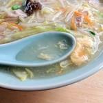 チャイナ食堂彩園 - 2019年1月 熱々のスープ