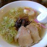 こだわり家 麺神 - 柚子塩ラーメン