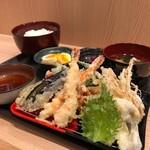 築地 刺天 - 魚河岸天ぷら定食