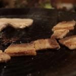 京の韓国家庭料理 ハムケ - サムギョプサル