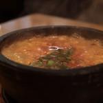 京の韓国家庭料理 ハムケ - 手作り豆腐こだわりスンドゥブ