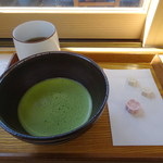 99913299 - 抹茶(干菓子付き)