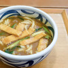 SANSHIKI - 料理写真:きざみあげカレーうどん