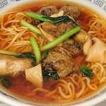 中国料理 小花 - 中国料理 小花 @有楽町 生蠔湯麵