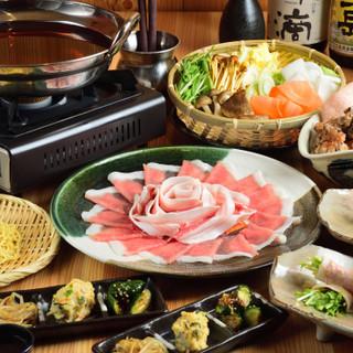 食べる国宝マンガリッツァ豚をしゃぶしゃぶでご堪能ください♪