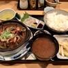 三惚 - 料理写真:「日替わり定食」(880円) ※ イカゲソ大根鍋&ヒラメの小舟盛り