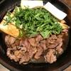 板蕎麦 山灯香 - 料理写真:合鴨のすき焼き