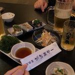 9993873 - 島らっきょでオリオンビール・・・・あう!!