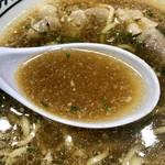 丸源ラーメン - スープアップ