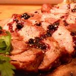 テンアンドハーフカフェ - 豚肩肉のロースト