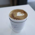 トキイロコーヒー - ほうじ茶ラテ エスプレッソトッピング☆